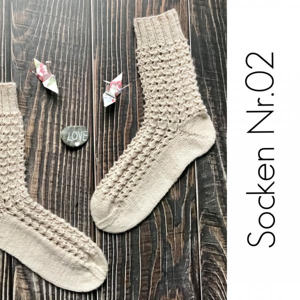 Socken Nr. 02 - Garnpaket (rosa p.)