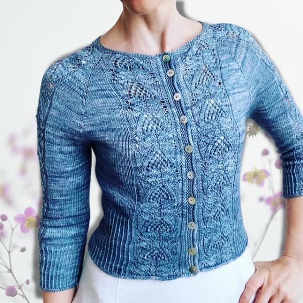 Juleflower Cardigan - Garnpaket (The Knitting Me)