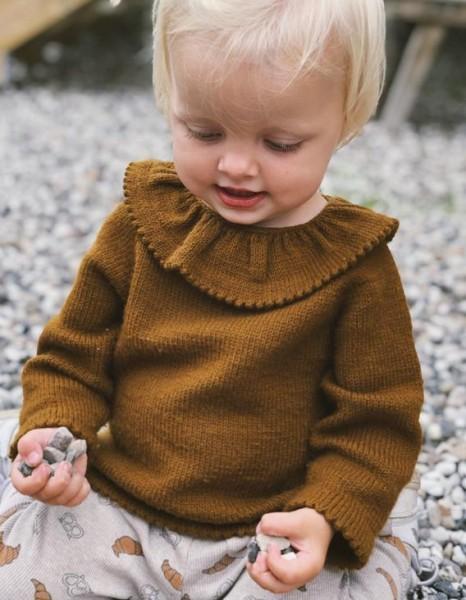 Dagmars Bluse - Baby/Kinder - Garnpaket (PetiteKnit)