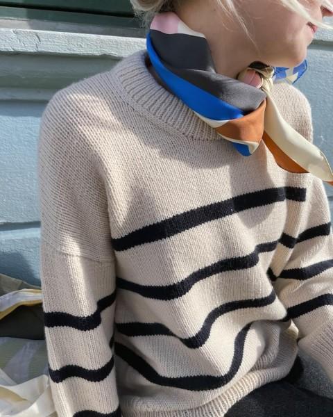 Marseille Sweater - Garnpaket (PetiteKnit)