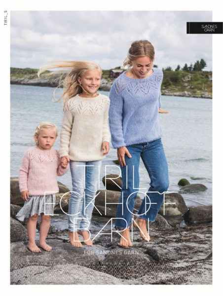 Tiril Kinderpullover 5 - Strick-Set (SANDNES)