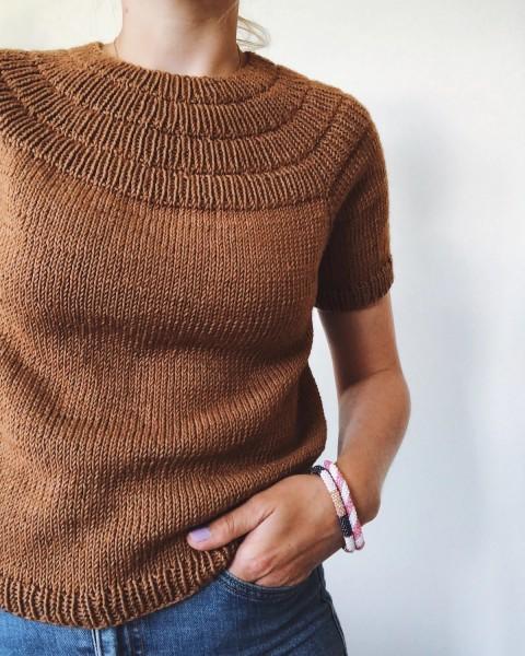 Anker's Bluse Woll-Version - Garnpaket (PetiteKnit)