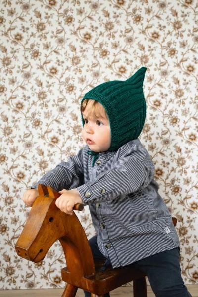 Pixie-Mütze bis 4 Jahre - Strick-Set (SANDNES)