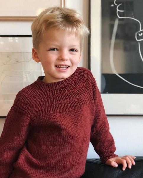 Anker's Pullover 3 Monate bis 7 Jahre - Garnpaket (PetiteKnit)