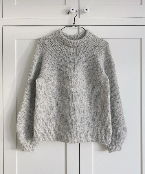 Novice Sweater (ohne Mohair) - Garnpaket (PetiteKnit)