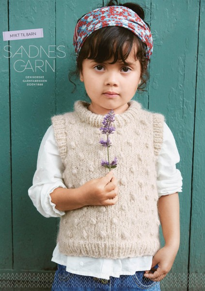 SANDNES Anleitungsheft Soft Knits for Kids 2012