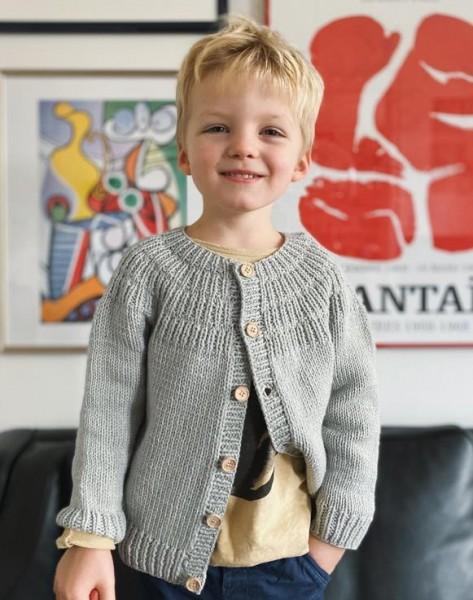 Ankers Jacke - Baby/Kinder - Garnpaket (PetiteKnit)