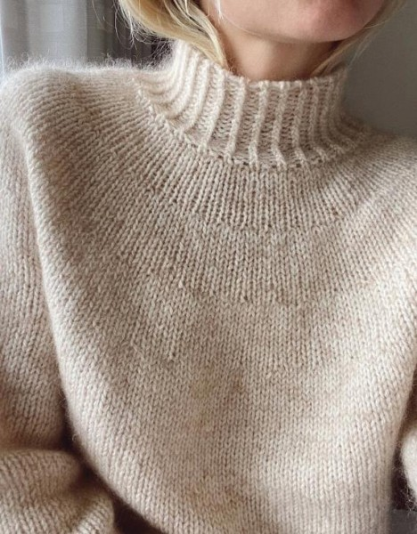 Novice Sweater - Garnpaket (PetiteKnit)