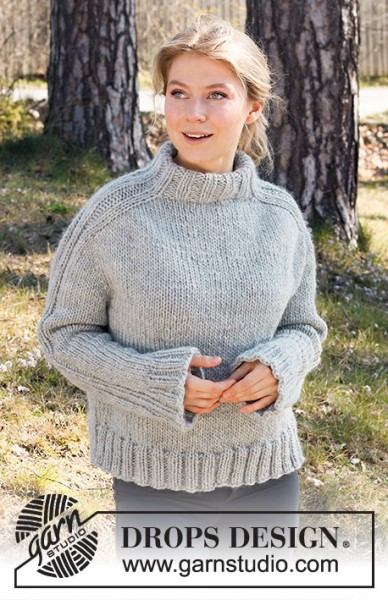 Outback Pullover 217-23 - Strick-Set (DROPS Design)