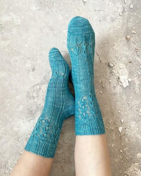 Art Nouveau Socks- Garnpaket (The Knitting Me)