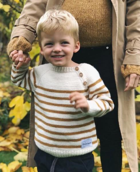 Seaside Sweater - Baby/Kinder - Garnpaket (PetiteKnit)