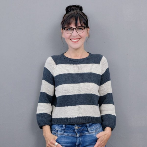 Koorasweater - Garnpaket (rosa p.)