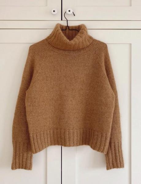 Caramel Sweater - Garnpaket (PetiteKnit)