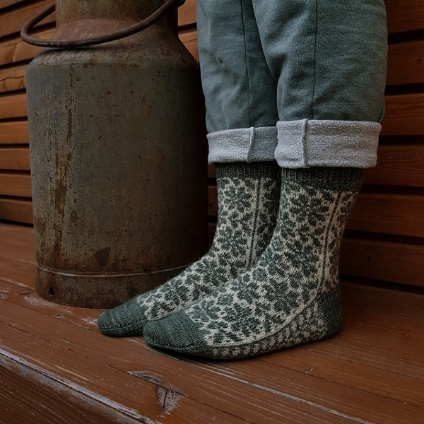 Powerflowermai Socken - Garnpaket (Ducathi)