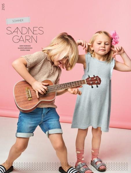 SANDNES Anleitungsheft Sommer - Kinder 2105