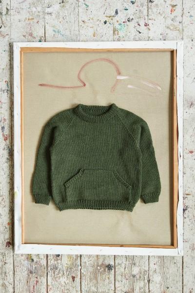 Leons Lomme-Pullover 2107-9 Strick-Set (SANDNES)