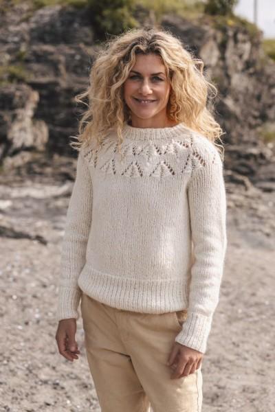Cecilie Skog Pullover - Damen - Strick-Set (SANDNES)
