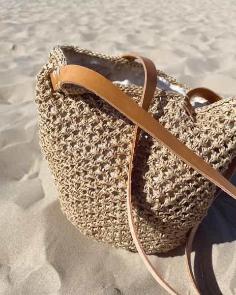 French Market Bag - Garnpaket (PetiteKnit)